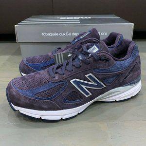 New Balance x KITH 990v4 Sneakers Men's Elderberry